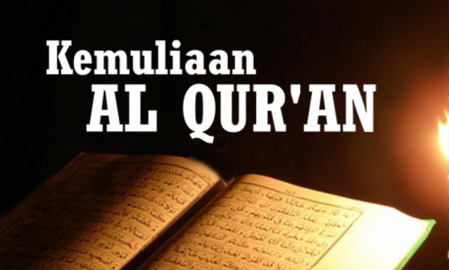 Judul Kemuliaan Al Quran Dalam Judul Ceramah