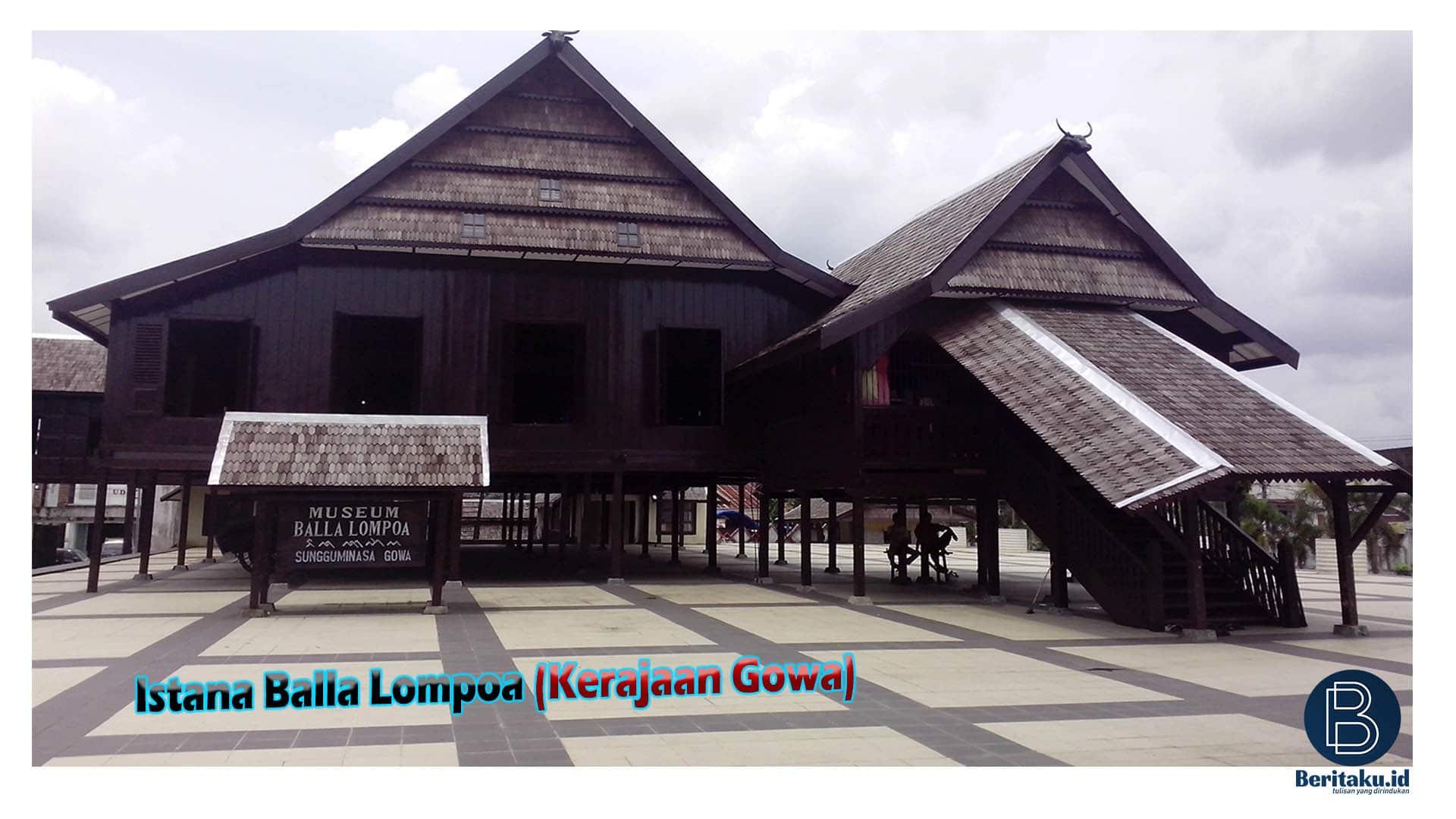 Istana Kerajaan Di Sulawesi Gowa
