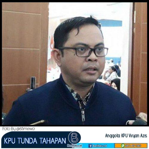 KPU Tunda 3 Tahapan Pilkada 2020