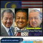 Perdana Menteri Malaysia Mengundurkan Diri