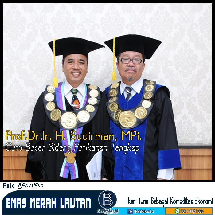 Prof Sudirman : Ikan Tuna emas Merah Dilautan