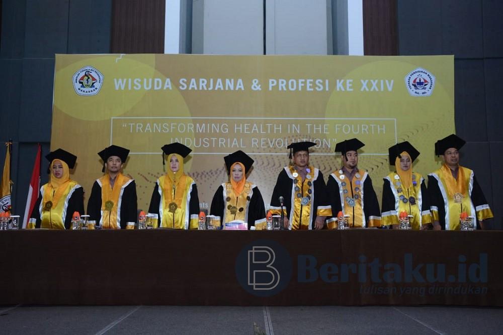 322 Mahasiswa STIK Makassar Resmi Menyandang Gelar Sarjana