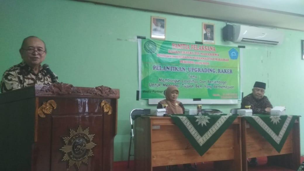 BEM Poltekkes Muhammadiyah Makassar Gelar Pelantikan dan Raker Periode 2019-2020