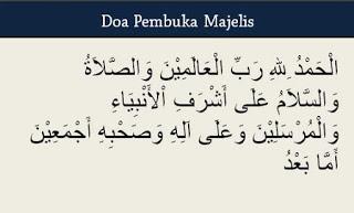 Doa Pembuka Singkat Untuk MC Islami