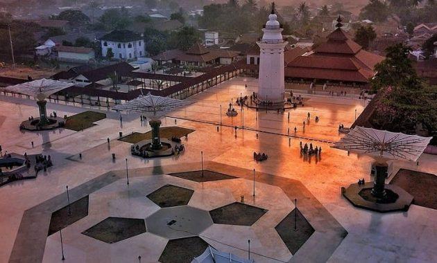 masjid agung banten